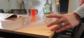 tafelzeilonline - transparant tafelzeil